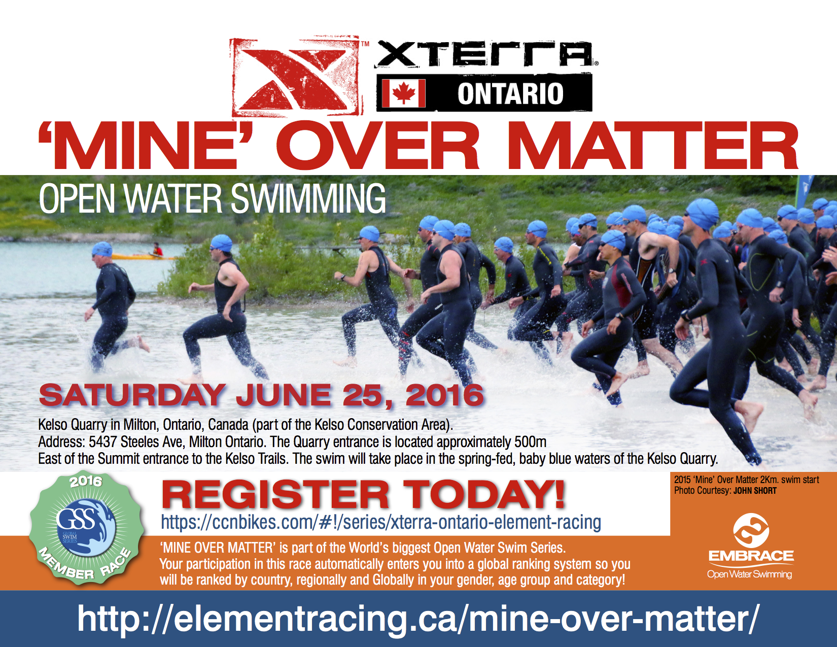 2016 Xterra OW RACE FLYER
